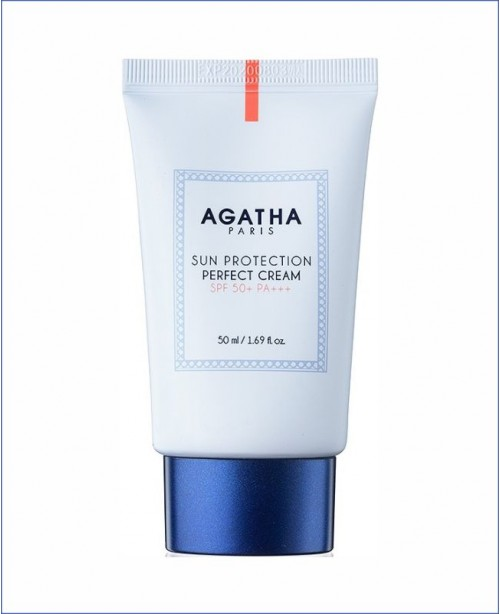 Солнцезащитный крем - Agatha Sun Protection Perfect Cream SPF50+ PA+++