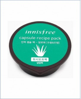 Капсульная маска для лица с экстрактом алоэ - Innisfree Capsule Recipe Pack Aloe