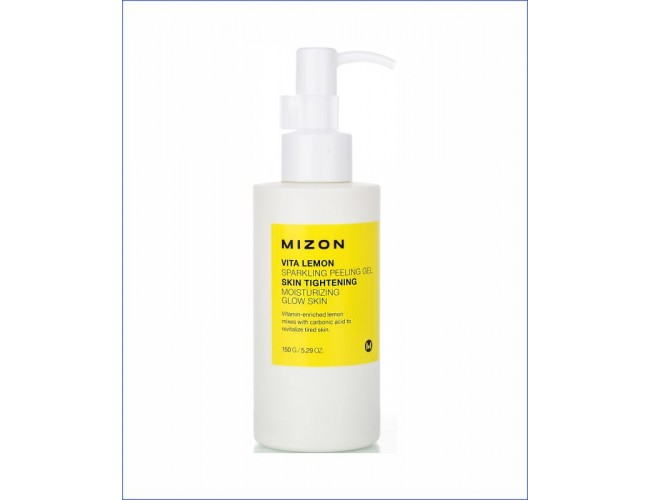 Пилинг-гель с экстрактом лимона - Mizon Vita Lemon Sparkling Peeling Gel