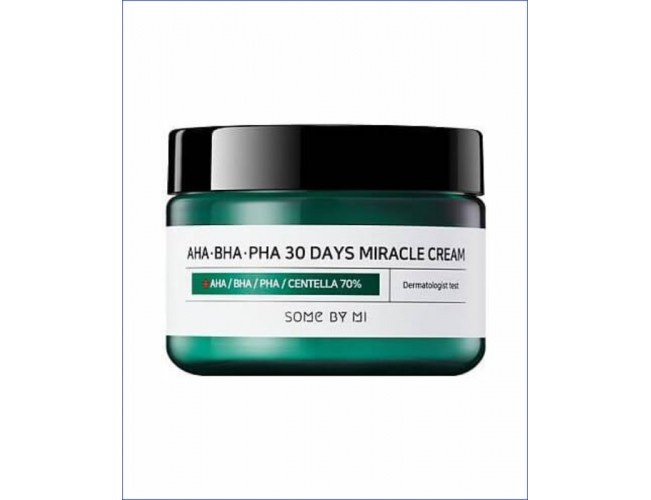 Восстанавливающий крем для проблемной кожи - Some By Mi AHA-BHA-PHA 30 Days Miracle Cream