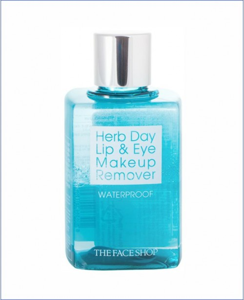 Средство для снятия макияжа - The Face Shop Herb Day Lip & Eye Make Up Remover Water Proof