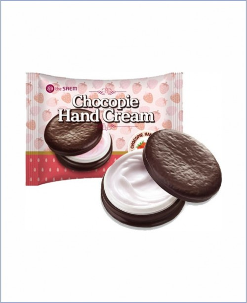 Крем для рук клубника - The Saem Chocopie Hand Cream Strawberry