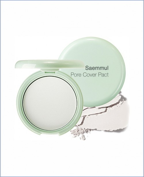 Компактная пудра для кожи с расширенными порами - The Saem Saemmul Perfect Pore Pact